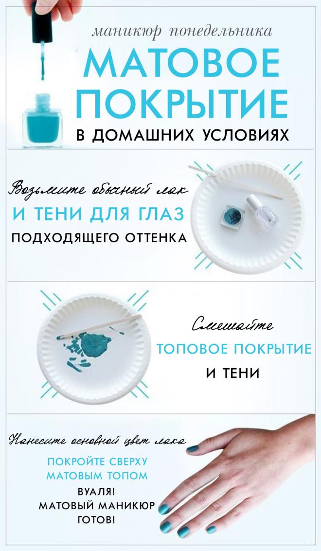 Дизайн ногтей обычным лаком