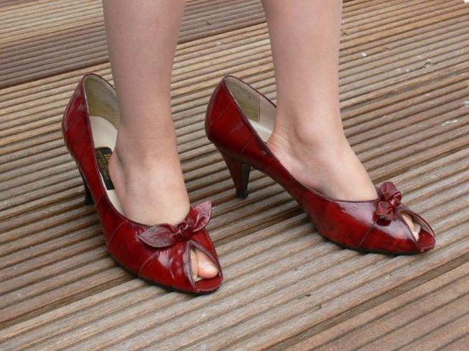 Как сделать обувь больше на один размер 78