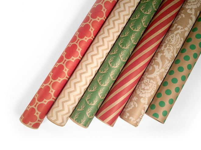 wrapping paper wow