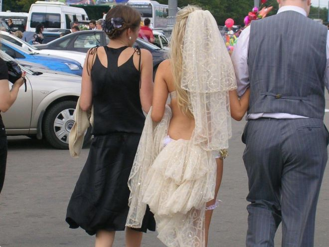 вспоминать эту свадьбу