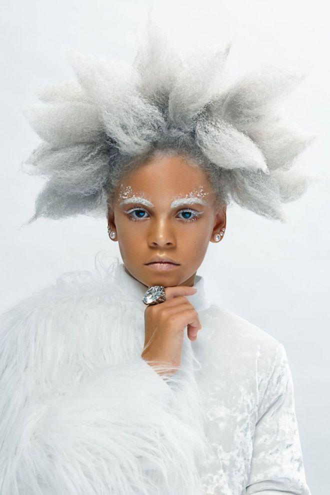 волосы темнокожих детей просто универсальны