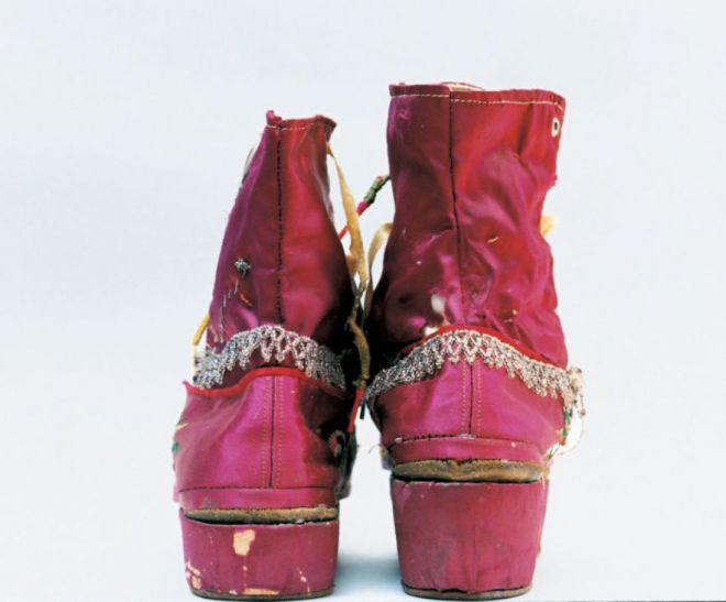 обувь художницы