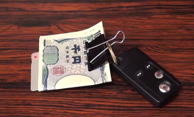Офисные клипсы для денег и ключей