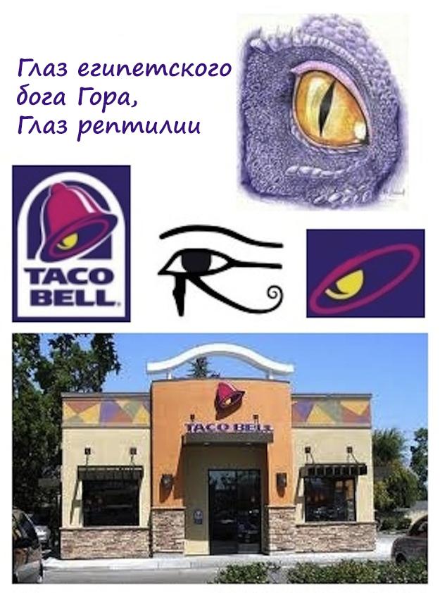 Логотип международной сети ресторанов быстрого питания Taco Bell