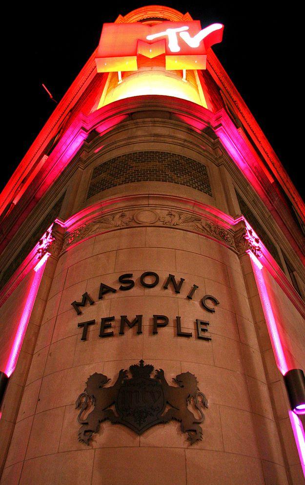 Офис MTV в Канаде (Храм масонов)
