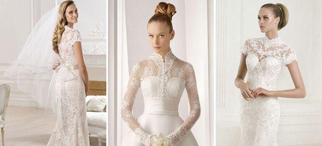 Цвета венчальных платьев