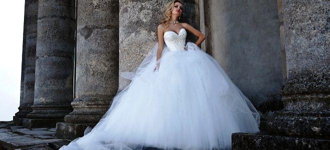 Самое пышное свадебное платья в мире