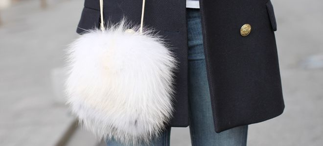 сумки из меха фото