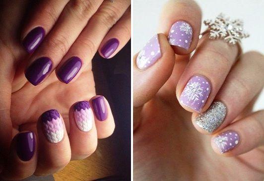 Дизайн ногтей вязка