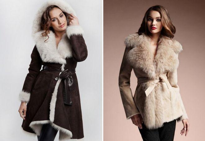 женская верхняя зимняя одежда фото
