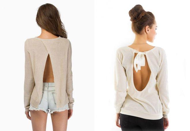 Блузка С Открытой Спиной С Доставкой