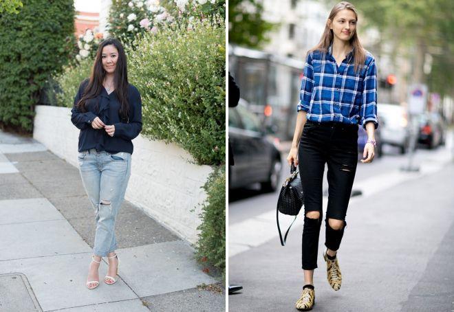 модные джинсы 2017 11