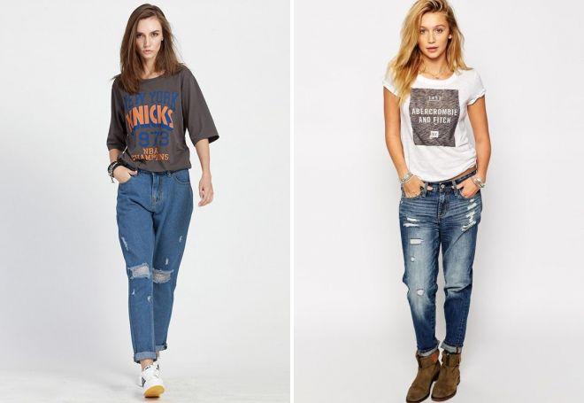 модные джинсы 2017 12