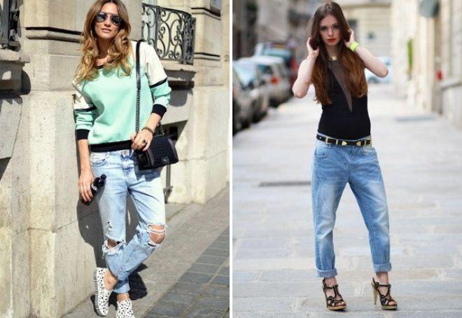 модные джинсы 2017 13