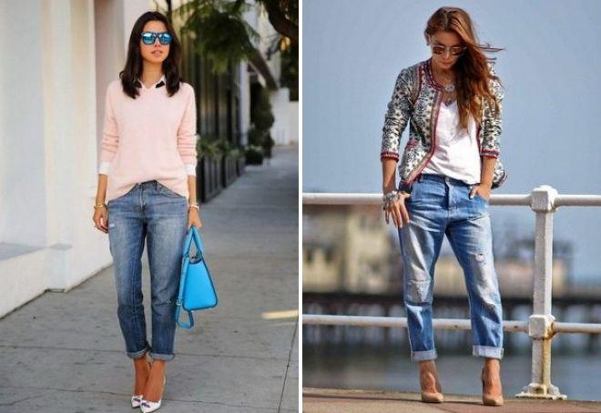 модные джинсы 2017 14