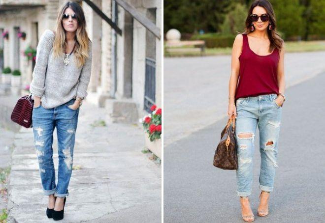 модные джинсы 2017 15