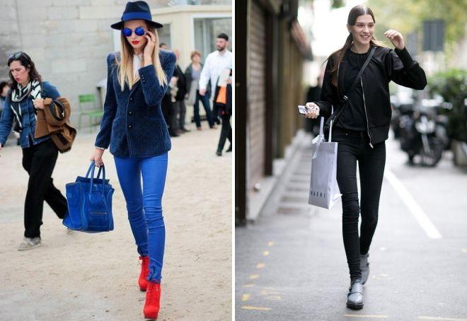 модные джинсы 2017 17