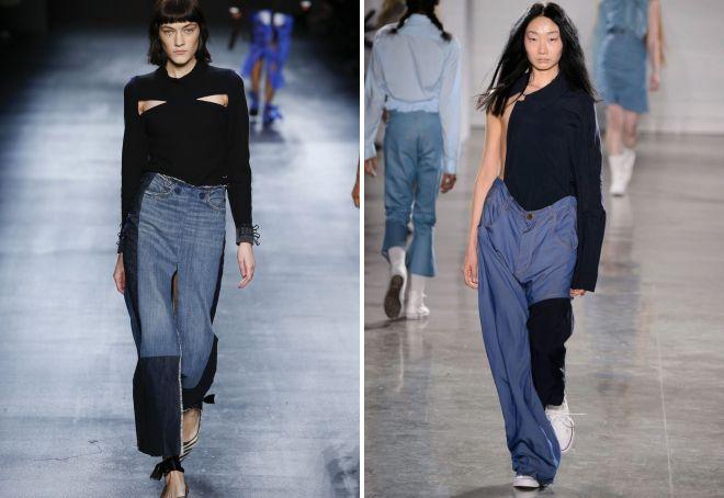 модные джинсы 2017 25