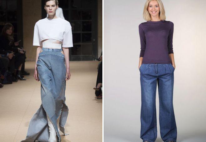 модные джинсы 2017 26