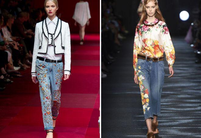 модные джинсы 2017 29