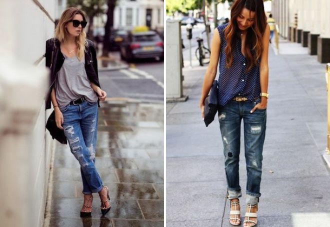 модные джинсы 2017 3