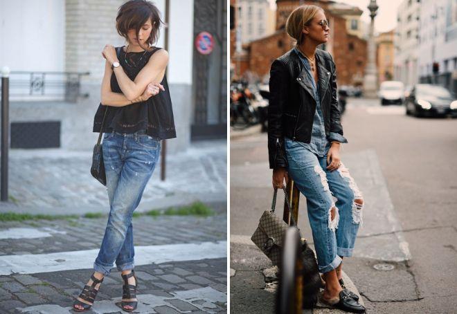 модные джинсы 2017 9