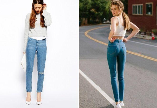 модные джинсы 2017 24