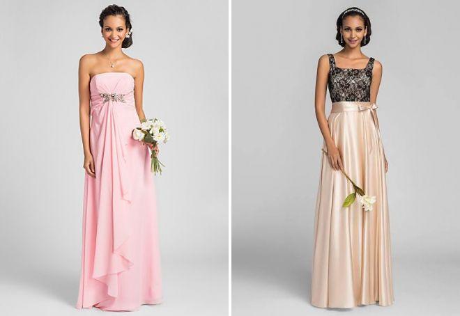 Какое платье на свадьбу свидетельнице