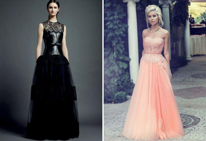 Платья корсеты вечерние фото