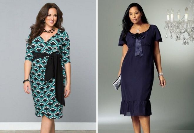 Платья для женщин после 45 лет