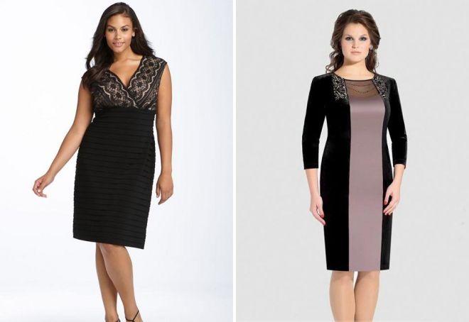 модные платья 2017 на 45 лет