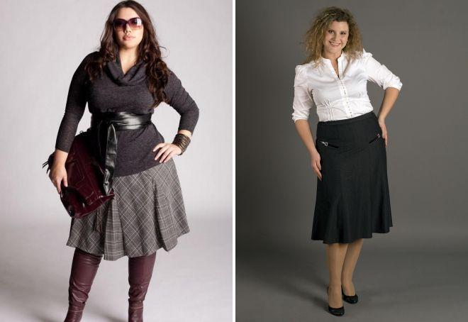 модные юбки женщин 45 лет 2017
