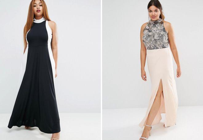 Самые красивые платья для полных