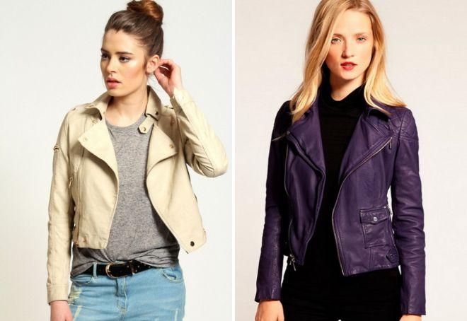 укороченные весенние куртки 2017