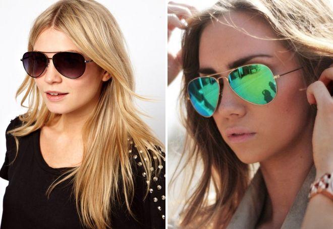 модные женские солнцезащитные очки 2017