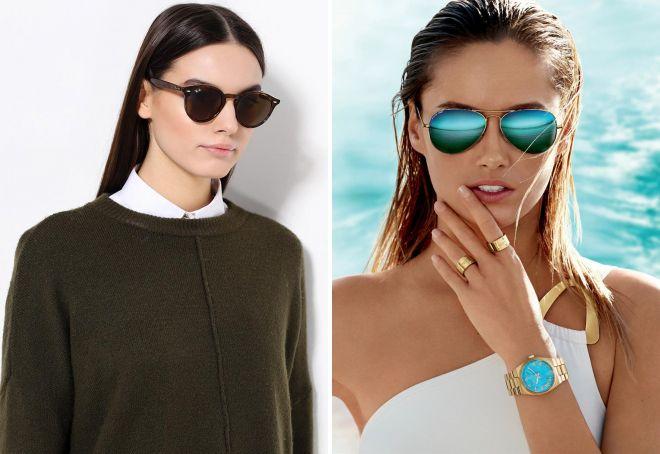 Известные бренды солнцезащитных очков