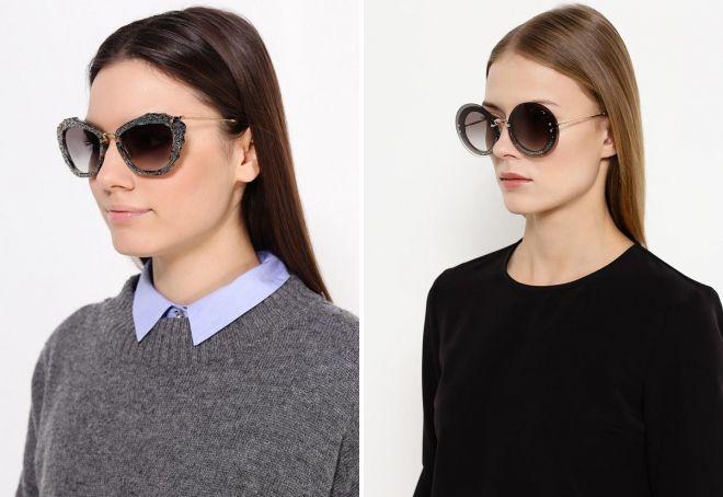 Женские солнцезащитные очки 2017 - тренды