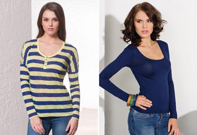 длинные женские футболки