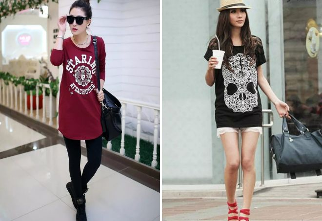 женские футболки с рисунками