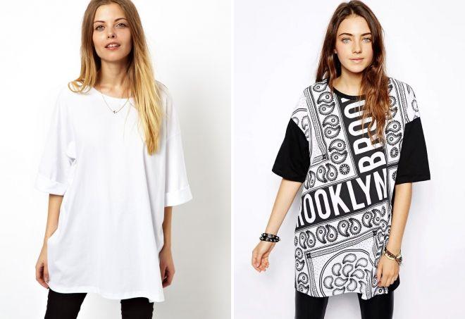 женские красивые футболки