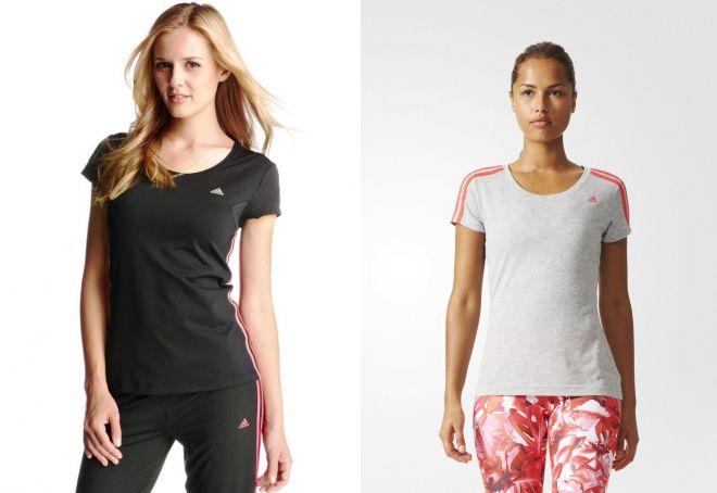 женские футболки для фитнеса