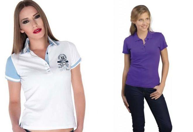 женские футболки поло