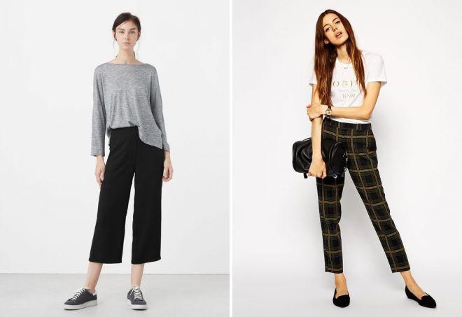 Модные женские брюки 2017
