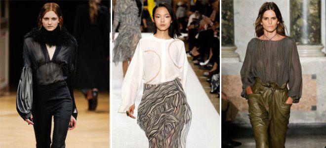 Блузы 2017 года модные тенденции