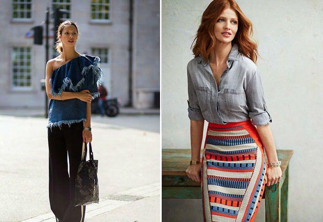 джинсовая блузка 2017