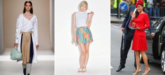 Юбки трикотажные модные