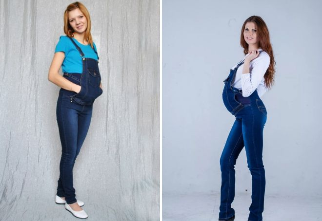 Как выбирать джинсы для беременных