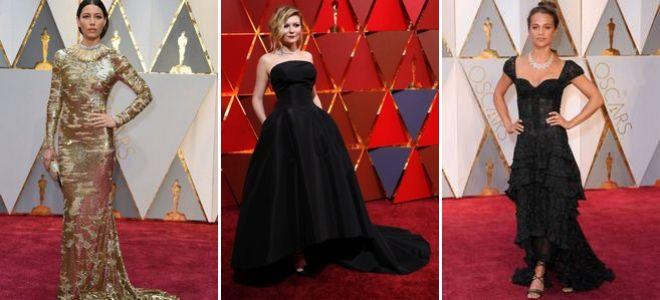 Оскар 2017 наряды