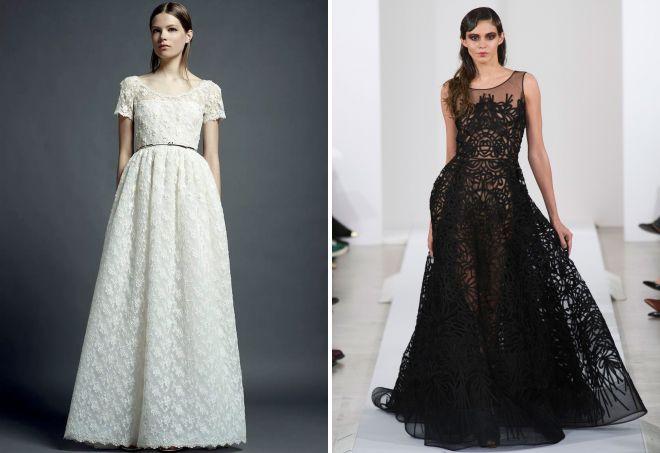 Красивые длинные платья модные