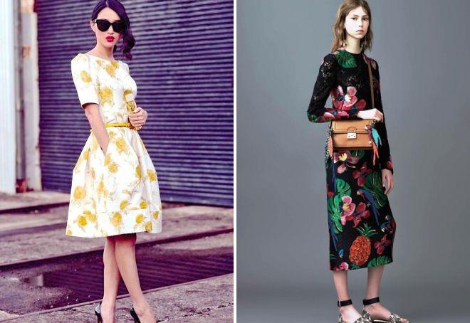 платья на весну 2017